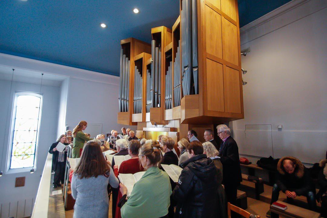 Musikalisches Jubiläum: 50 Jahre Kirchenchor Sankt Bernard