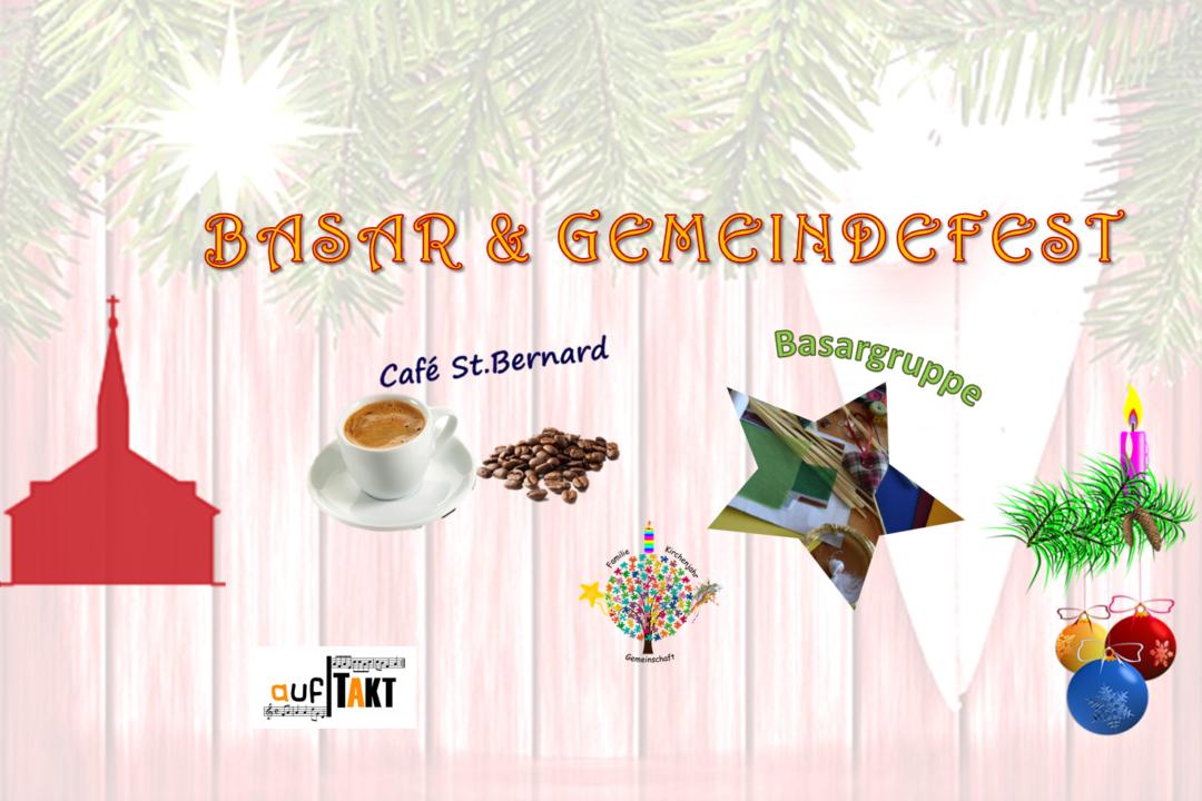 Basar und Gemeindefest am 23.11.19