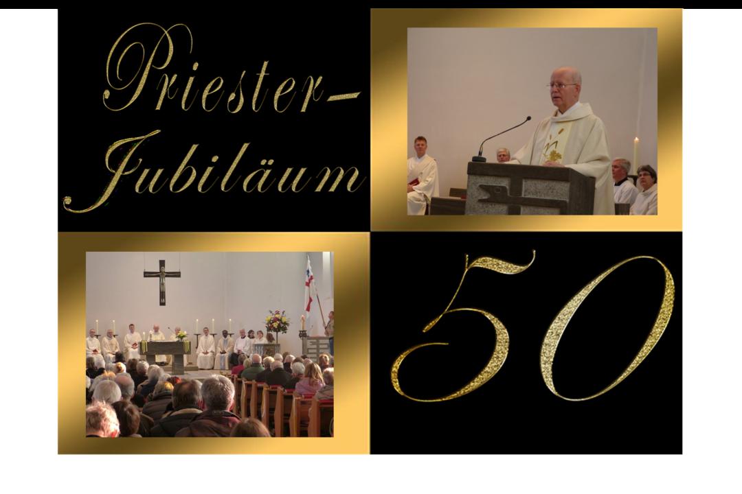 Goldenes Priesterjubiläum von Pastor Jansen