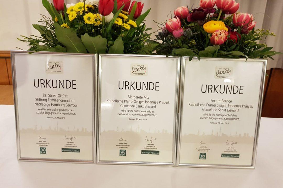 Café St. Bernard gewinnt Abendblattpreis