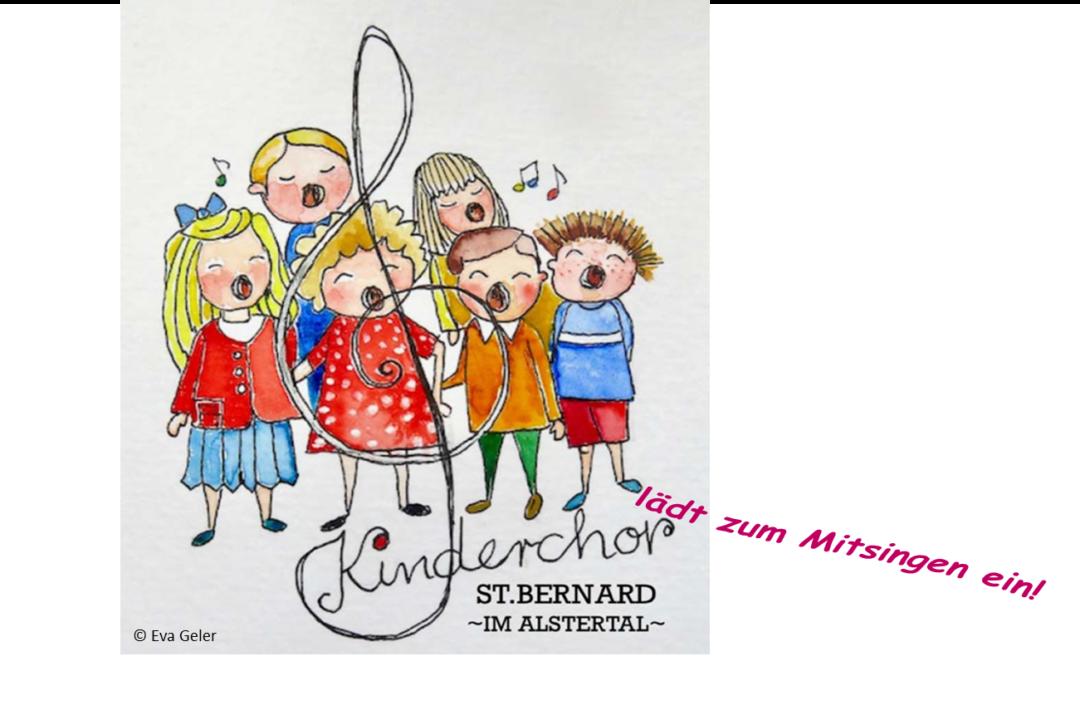 Am 2. September startet unser Gemeinde-Kinderchor
