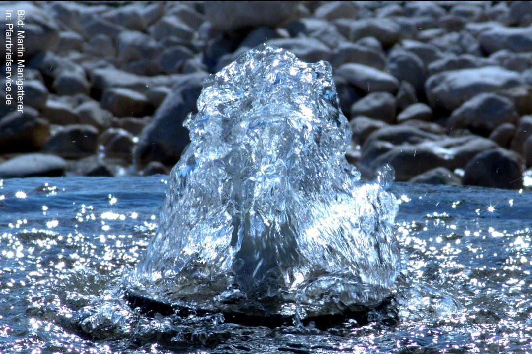 """""""Water of Life"""" – Vorstellungsgottesdienst der Firmanden"""